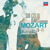 Mozart: Symphonies no 28-41 / Davis, Staatskapelle Dresden