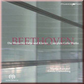 Beethoven: Complete Cello Works / Rummel, Guttenberg