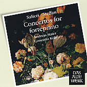 Salieri, Steffan: Concertos for Fortepiano / Staier, et al