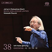 Bach: Canatas Vol 38 / Suzuki, Sampson, Kooij, et al