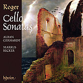 Reger: Cello Sonatas / Gerhardt, Becker