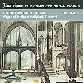 Buxtehude: The Complete Organ Works Vol 1 / Christopher Herrick