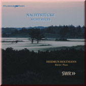 Night Pieces - Schumann, Liszt, Ravel, Chopin, Debussy, Holliger, etc / Holtmann
