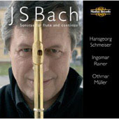 Bach: Sonatas for Flute and Continuo / Schmeiser, Rainer, M&uuml;ller