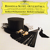 Rossini & Suppé: Ouvertüren / Karajan, Berlin Philharmonic