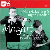 Mozart: Great Sonatas for Violin / Szeryng