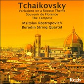 Tchaikovsky: Variations On A Rococo Theme; Souvenir de Florence; The Tempest