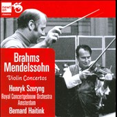 Brahms, Mendelssohn: Violin Concertos / Szeryng