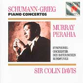 Schumann, Grieg: Piano Concertos / Perahia, Davis