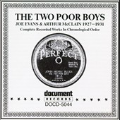 The Two Poor Boys: Complete Works 1927-1931