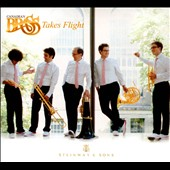 Canadian Brass Takes Flight: works by Dowland, Bach, Brahms, Henderson, Gillis, et al.
