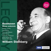 Beethoven: Missa Solemnis / Heather Harper, Julia Hamari, William Steinberg