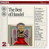 The Best of Handel / Marriner, Schr&ouml;der, Gardiner, et al