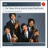 The Tokyo String Quartet Plays Beethoven: The Complete String Quartets [9 CDs]