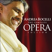 Tenor Andrea Bocelli - The Complete Opera Edition