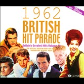 Various Artists: The 1962 British Hit Parade, Pt. 2: May-September [Acrobat] [Box]