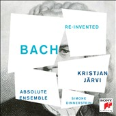 Bach Re-Invented - Orginial versions and Bach-inspired contemporary works / Simone Dinnerstein, piano