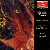 Peyton: String Quartet, Songs, etc / Borromeo Quartet, et al