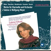 Works for Clarinet & Orchestra by Weber, Baermann, Mendelssohn, Krommer, Rossini / Sabine & Wolfgang Meyer, clarinets