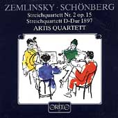Zemlinsky, Schoenberg: String Quartets / Artis Quartet