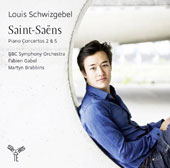 Saint-Saëns: Piano Concertos 2 & 5 / Louis Schwizgebel, piano; BBC SO