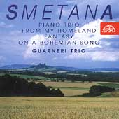 Smetana: Chamber Works Vol 2 / Guarneri Trio, et al