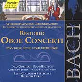 Edition Bachakademie Vol 131 - Restored Oboe Concerti