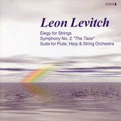 Levitch: Elegy for Strings, Symphony no 2, etc /Mehta, et al
