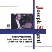 Bach: Violin Sonatas, Concerto for 2 Violins / Szigeti