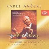 Ancerl Gold Edition 22 - Bart&#243;k: Violin Concerto no 2, etc
