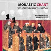 1+1  Monastic Chant / Paul Hillier, Theatre of Voices