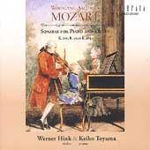 Mozart: Violin Sonatas / Werner Hink, Keiko Toyama