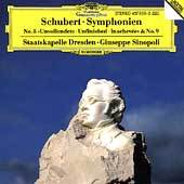 Schubert: Symphonien 8 & 9 / Sinopoli, Staatskapelle Dresden