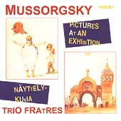 Mussorgsky: Pictures at an Exhibition, etc  / Trio Fratres
