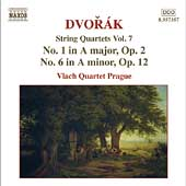 Dvorak: String Quartets Vol 7 / Vlach Quartet Prague