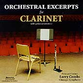 Orchestral Excerpts for Clarinet / Larry Combs