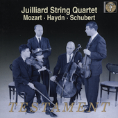 Mozart, Haydn, Schubert / Juilliard String Quartet