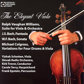 The Elegant Viola / Yizhak Schotten, Slovak Radio Orchestra
