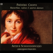Chopin: Mazurkas, Waltzes, etc / Schoonderwoerd