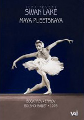 Tchaikovsky: Swan Lake / Live from the stage of the Bolshoi / Maya Plisetskaya with Alexander Bogatirev [DVD]