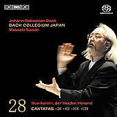 Bach: Cantatas Vol 28 / Suzuki, Bach Collegium Japan