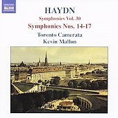 Haydn: Symphonies 14-17 / Mallon, Toronto Camerata