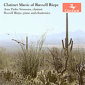 Russell Riepe: Clarinet Music / Parks Simmons