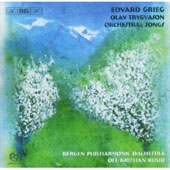 Grieg: Olav Trygvason, Songs / Ruud, Kringelborn, Solberg