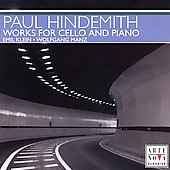 Hindemith: Works for Cello and Piano / Klein, Manz