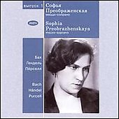 Sophia Preobrazhenskaya - Historic Performances