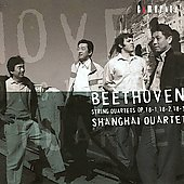Beethoven: String Quartets, Op 18 / Shanghai Quartet