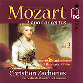 Mozart: Piano Concertos Vol 3 / Zacharias, et al