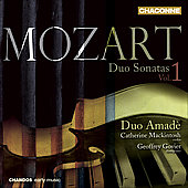 Mozart: Duo Sonatas Vol 1 / Duo Amad&egrave;