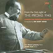 First Night of The Proms 1943 - Dukas, Handel, Beethoven, etc / Nash, Lympany, Wood, London PO